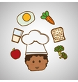 Menu Kids icon design vector image vector image