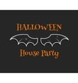 Stylish unique bat background Happy Halloween