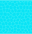 swimming pool surface water texture top aerial vector image vector image