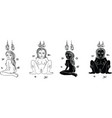 thai yantra vector image vector image
