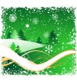 winter background for your design vector image