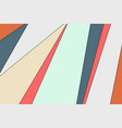 abstract colorful pastel minimal decoration vector image vector image