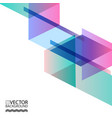 abstract digital memphis style geometric trendy vector image