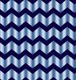 Chevron blue foil vector image vector image