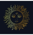 ethnic sun ornament vector image