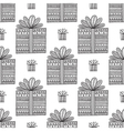 gifts ornamental boho seamless pattern vector image vector image