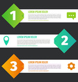Infographic set vector image vector image