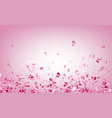 love valentine s background with hearts vector image vector image