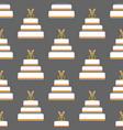 same sex wedding cake seamless pattern vector image vector image
