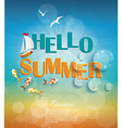Say Hello to Summer creative graphic message