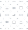 sound icons pattern seamless white background vector image vector image