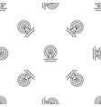 water energy wheel pattern seamless vector image