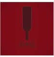 Wine list design vector image vector image