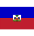 Flag of Haiti vector image