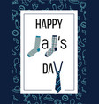 happy dads day vector image vector image