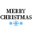 pixel merry christmas text detailed isolated vector image vector image