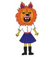 werewolf mask vector image