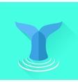 Fish Tail vector image