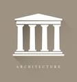 Architecture symbol vector image