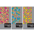 cell background vector image vector image