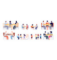 friends playing games happy hobbies people play vector image