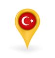 Location Turkey vector image vector image