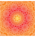 Orange white and yellow pattern vector image vector image