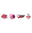 sale countdown badges set vector image