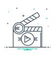 short films vector image
