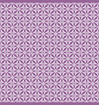 tile violet and white pattern vector image vector image