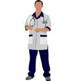 al 0336 doctor 01 vector image vector image