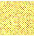colorful seamless dot pattern background - graphic vector image vector image