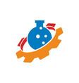 gear business logo design template icon vector image