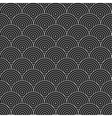 Geometric circles pattern - seamless vector image