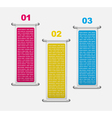 Modern infographics template vector image vector image