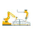 modern robotic car manufacturing process