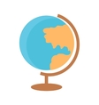 School Desktop Globe vector image