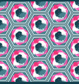 seamless geometric colorful pattern vector image vector image