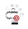 search engine optimization icons vector image