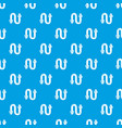 siphon pattern seamless blue vector image vector image