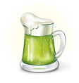 Mug of ale vector image