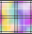 check fashion pastel rainbow seamless pattern vector image