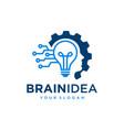 creative idea logo design template vector image
