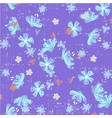 cute abstract seamless pattern with small colorful vector image vector image