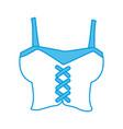 women pirate shirt vector image vector image