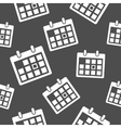 Calendar icon pattern vector image