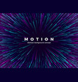 sci-fi motion wallpaper abstract background vector image vector image