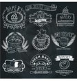 Vintage Bakery LabelsOutline hand sketchy vector image vector image