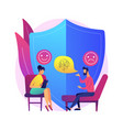 depression counseling abstract concept vector image vector image