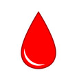 drop blood medical icon virus health vector image